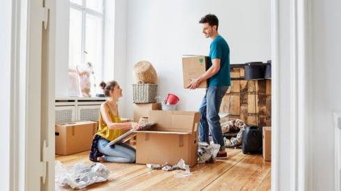 Decluttering before you move!